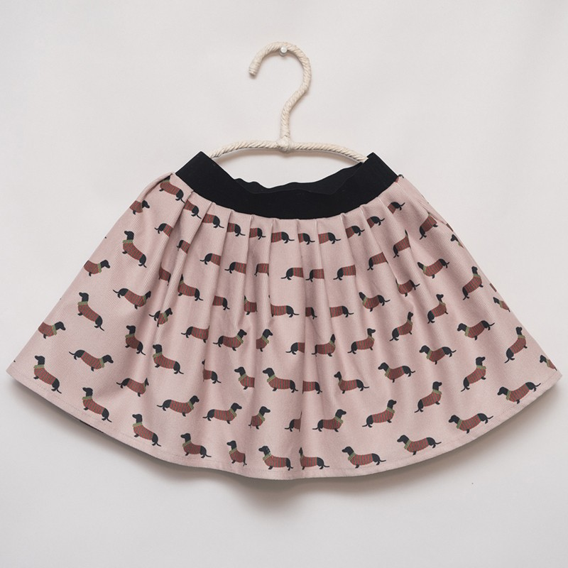 gonna - skirt - DOGS ON SAND COLOUR - OttO BE Milano