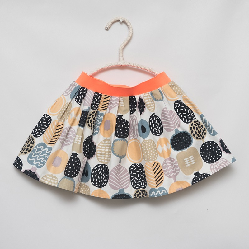 gonna - skirt - FRUITS ON IVORY - OttO BE Milano