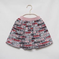 gonna - skirt - RED FISH ON GREY COLOR - OttO BE Milano