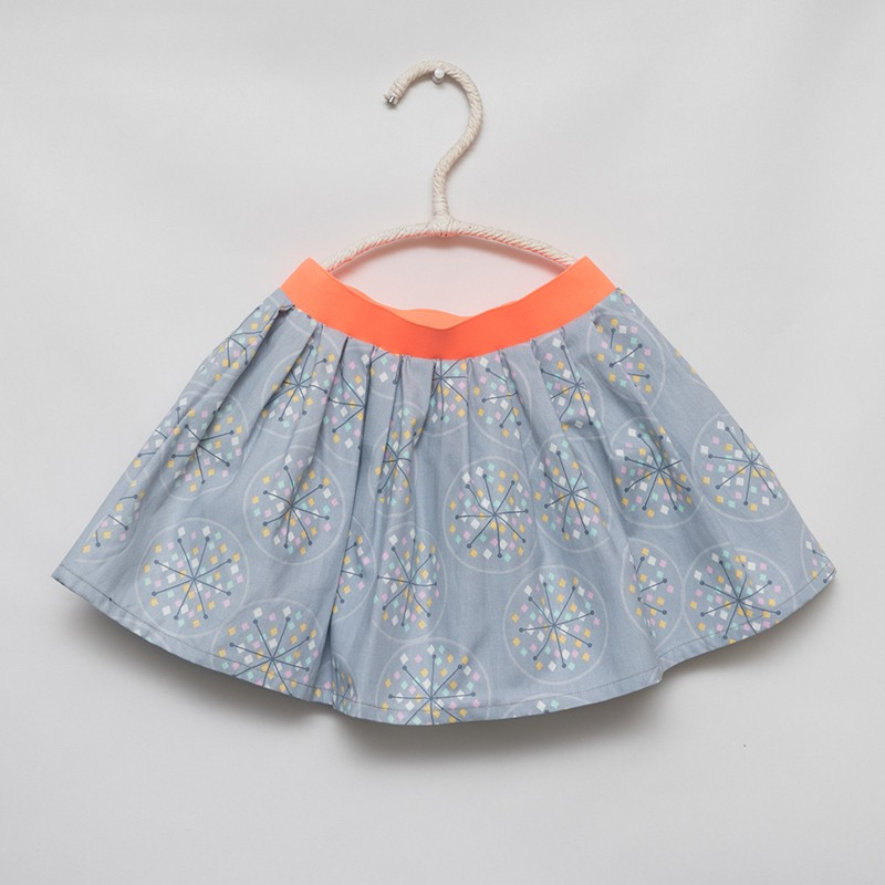 gonna - skirt - CRISTAL ON LIGHT GREY - OttO BE Milano
