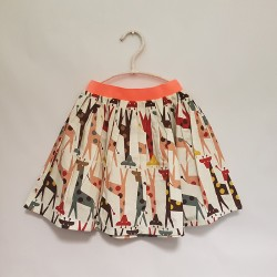 gonna - skirt - GIRAFFE GREY AND YELLOW - OttO BE Milano