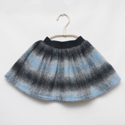 skirt - LIGHT BLUE MOHAIR - OttO BE Milano