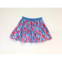gonna - skirt - TULIPES ON LIGHT BLUE - OttO BE Milano