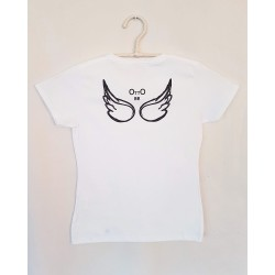 T-SHIRT WHITE RETRO - OttO BE Milano