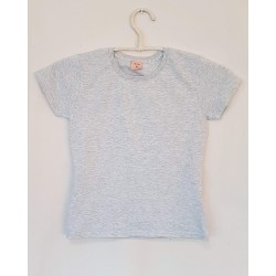 T-SHIRT GREY FRONTE - OttO BE Milano