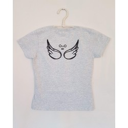 T-SHIRT GREY RETRO - OttO BE Milano