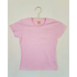 T-SHIRT LIGHT PINK FRONTE - OttO BE Milano