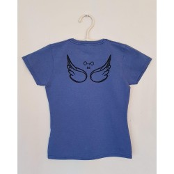 T-SHIRT BLUE RETRO - OttO BE Milano